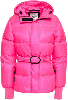 Kenzo Quilted Shell Hooded Jacket