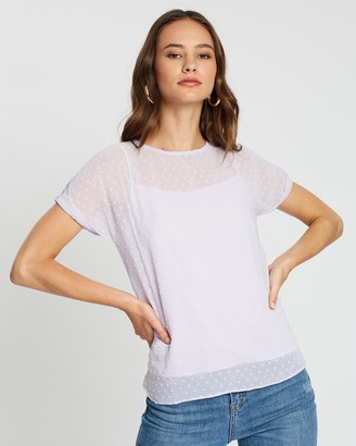 Atmos & Here Lincoln Dobby Top
