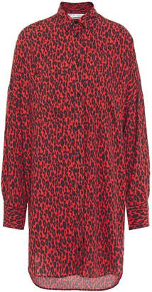 IRO Leopard-print Woven Shirt