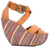 Mini Market Minimarket - 'Wati' sandals - women - Leather/rubber - 39