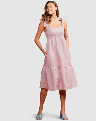 SACHA DRAKE - Women's Pink Dresses - Caloundra Dress - Size One Size, 14 at The Iconic