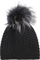Inverni Knit cashmere short beanie