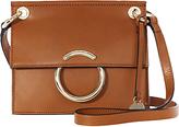 Karen Millen O Ring Shoulder Bag, Tan