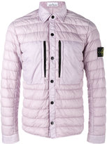 Stone Island Dyed Down padded jacket - men - Polyamide/Polyurethane Resin/Duck Feathers - L