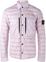 Stone Island padded jacket - men - Polyamide/Polyurethane Resin/Duck Feathers - S