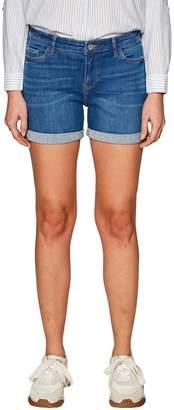 Esprit 5-Pocket Shorts with Turn-Ups
