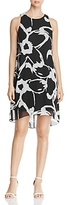 Vince Camuto Sleeveless Floral Print Dress