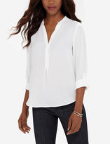 The Limited Trimmed Logan Blouse