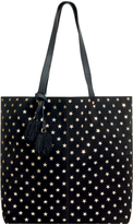 Accessorize Alesha Gold Star Leather Shopper Bag