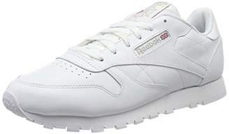 Reebok Classic Leather, Women's Training Running Shoes, White (Int White)