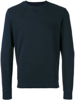 Woolrich logo crew - men - Cotton/Polyester - M