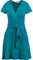 Alice + Olivia Adrianna Wrap-Effect Jersey Dress