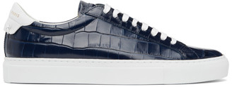 Givenchy Blue Urban Knot Street Sneakers