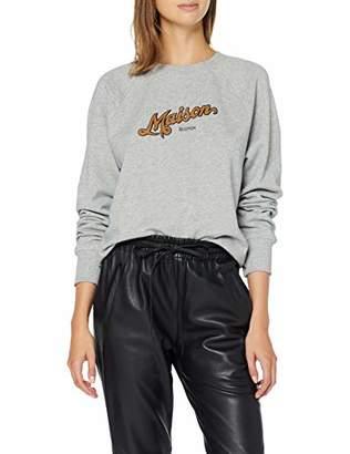 Scotch & Soda Maison Women's Crewneck Sweat with Artworks Sweatshirt,X-Small