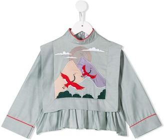 Raspberry Plum Montana blouse