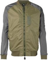 MHI contrast sleeve bomber jacket - men - Cotton - M