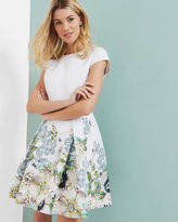 Ted Baker Gem Gardens pleated dress