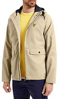 Lyle & Scott Cotton Zip Through Jacket, Stone
