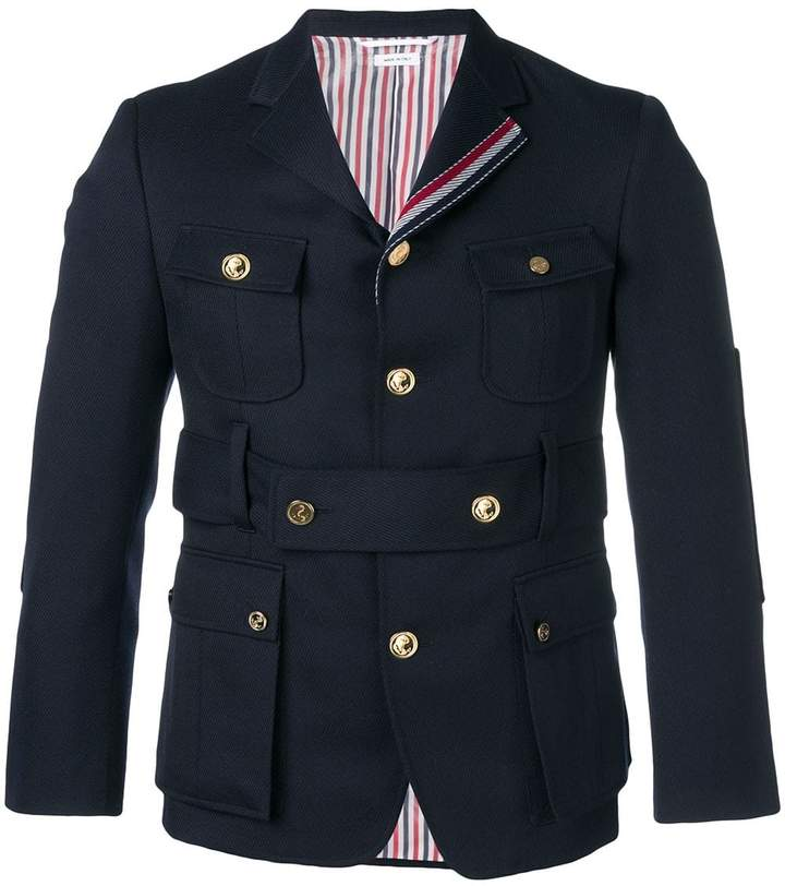 Thom Browne Norfolk High-break Sport Coat