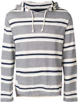 Junya Watanabe multi-stripe hoodie
