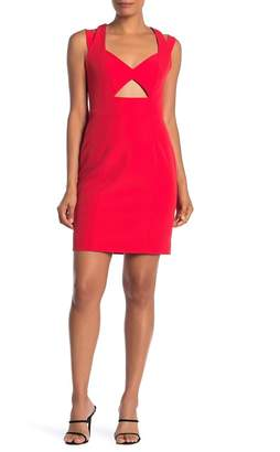 Milly Cutout Sleeveless Mini Dress
