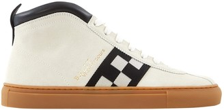 Bally Beige Suede Trainers