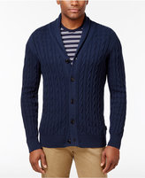 Barbour Men's Shawl-Collar Cable-Knit Cardigan