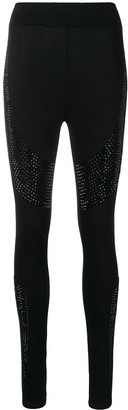 Philipp Plein Embellished Leggings