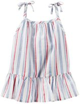 Osh Kosh Toddler Girl Striped Tie Strap Tank Top