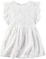 Carter's Toddler Girl Geo Lace Dress
