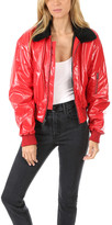 R 13 Cropped Garage Flight Jacket