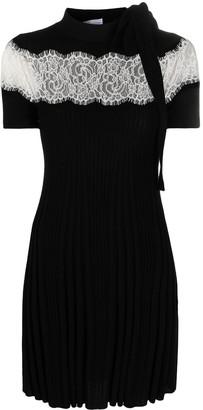 RED Valentino Lace-Trim Dress