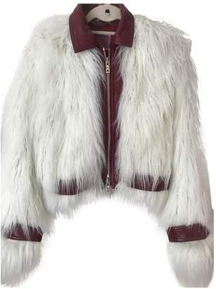 Giambattista Valli X H&m Ecru Faux fur Coat for Women