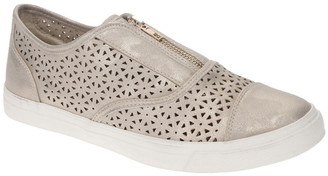 Planet Shoes Daisy Gold Sneaker