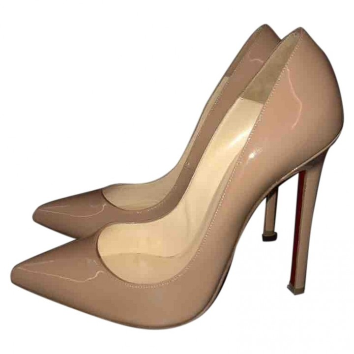 christian louboutin pigalle 120 beige