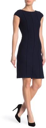 St. John Ana Boucle Wool Blend Dress