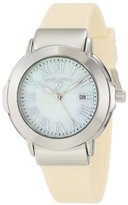 Swiss Legend Women's 20032-02-BG South Beach White Mother-Of-Pearl Dial Watch
