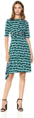 Donna Morgan Women's Printed Jersey Dress