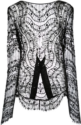 Kiki de Montparnasse Beaded Lace Jacket