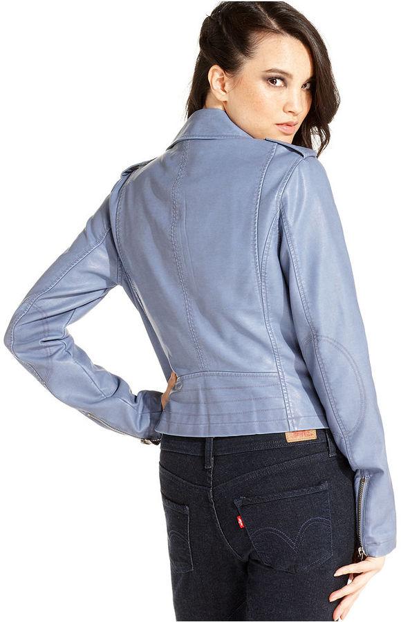 Levi's Jacket, Faux-Leather Moto