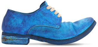 A Diciannoveventitre Handmade Leather Lace-up Shoes