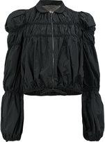 Giambattista Valli ruffled lightweight jacket - women - Silk/Cotton/Polyester/Viscose - 40