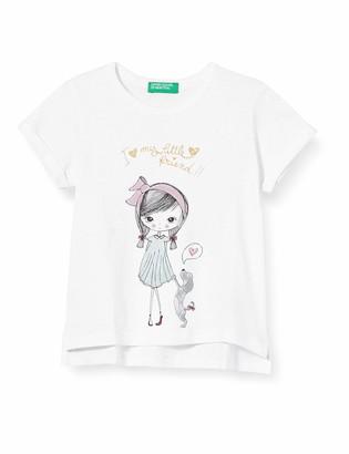 Benetton Baby Girls' T-Shirt Kniited Tank Top