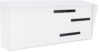 west elm Modern Mailbox Horizontal Mailbox - Locking