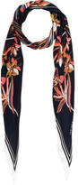 Maiyet Silk Floral Stole