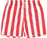 Solid & Striped The Classic Las Brisas Red and White Stripe Swim Shorts