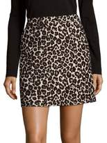 Sanctuary Leopard Print Mini Skirt
