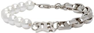 Misbhv Off-White Pearl Half Bracelet