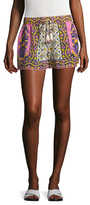 Calypso St. Barth Kololi Printed Lace Trimmed Short