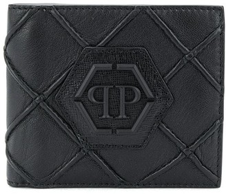 Philipp Plein geometric French wallet
